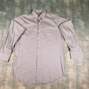 Peter Millar Plaid Long Sleeve Shirt